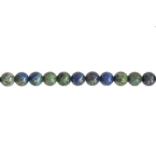 Chrysocolla Line - 6 mm Bead