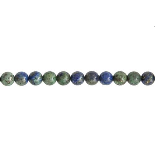 Chrysocolla Line - 6 mm Bead