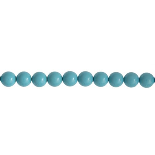 Blue Howlite Line - 8 mm Bead
