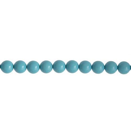 Blue Howlite Line - 8 mm Bead