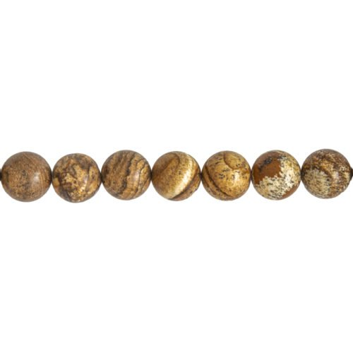 Landscape Jasper Line - 14 mm Bead