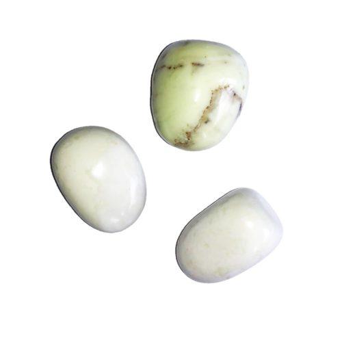 Lemon Chrysoprase Tumbled Stone