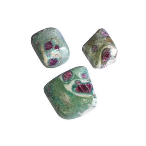 Ruby in Fuschite Tumbled Stone