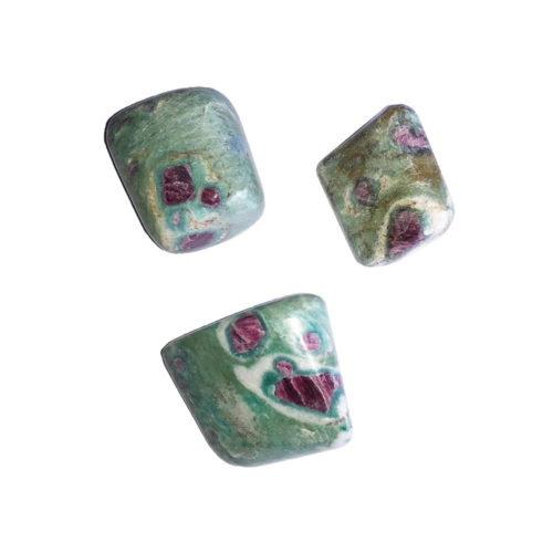 Ruby with Fuschite Tumbled Stone