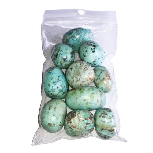 Chrysocolla Tumbled Stone - 250 g