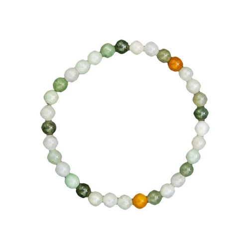 Burmese Jade Bracelet - 6 mm Bead