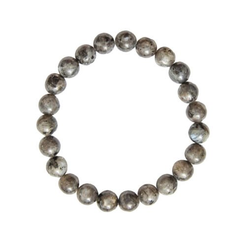 Labradorite Bracelet with Inclusions - 8 mm Bead