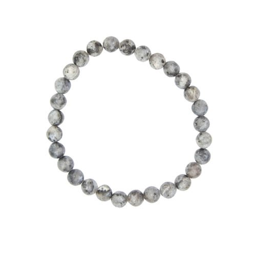 Larvikite Bracelet - 6 mm Bead