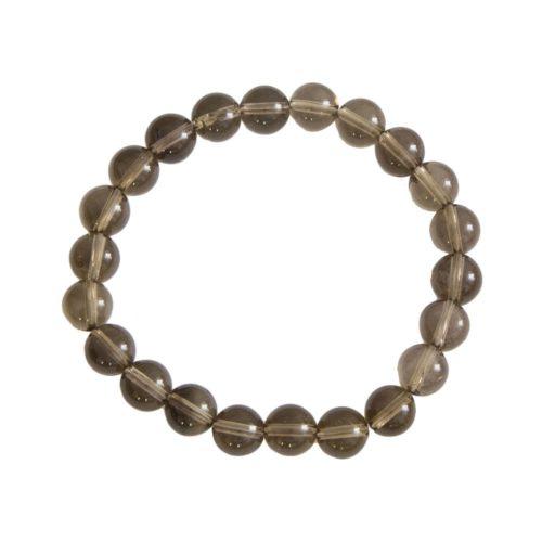 Smoky Quartz Bracelet - 8 mm Bead