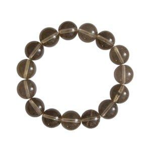 Smoky Quartz Bracelet - 12 mm Bead