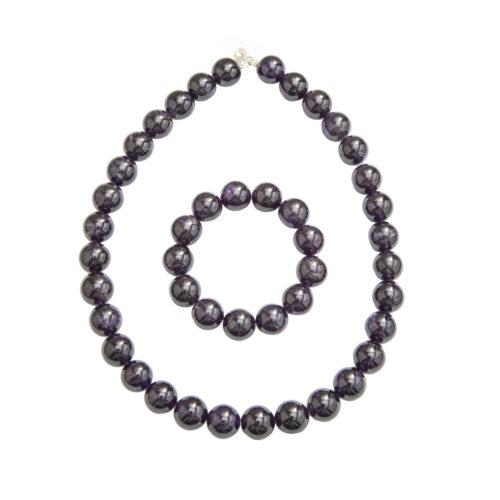 Amethyst Gift Set - 14 mm Bead