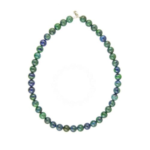 Chrysocolla Necklace - 10 mm Bead