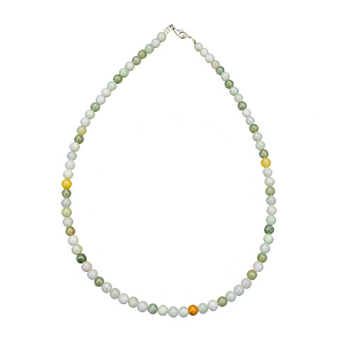 Burmese Jade Necklace - 6 mm Bead