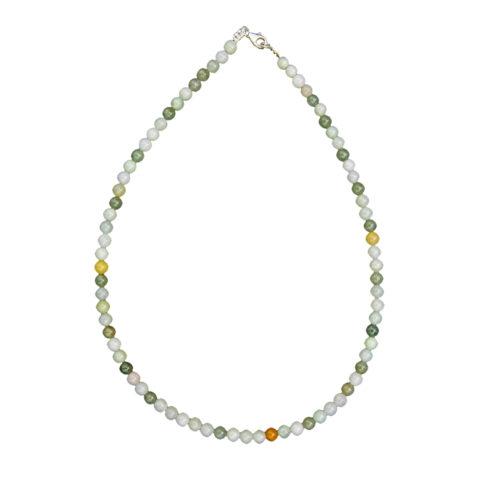 Burmese Jade Necklace - 6 mm Bead
