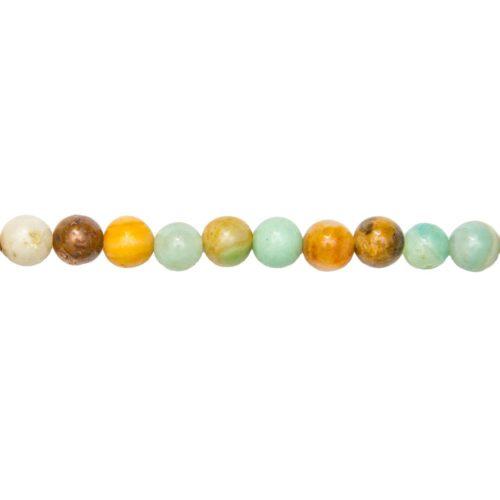 Multicoloured Amazonite Line - 8 mm Bead