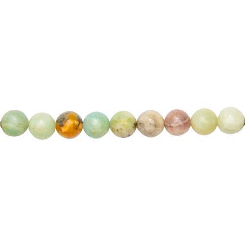 Multicoloured Amazonite Line - 10 mm Bead
