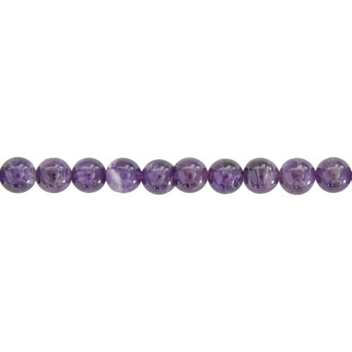 Amethyst Line - 8 mm Bead