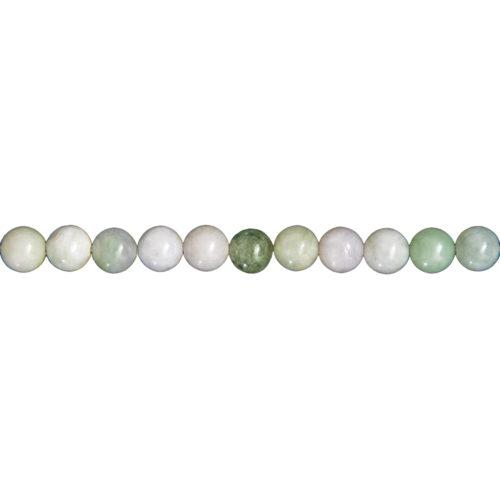 Burmese Jade Line - 6 mm Bead