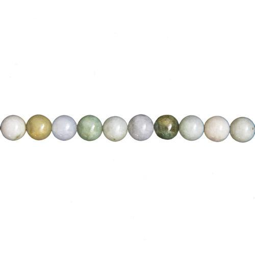 Burmese Jade Line - 8 mm Bead