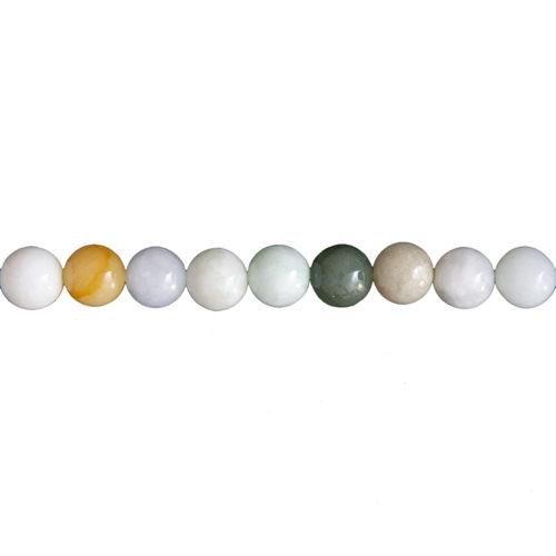 Burmese Jade Line - 10 mm Bead