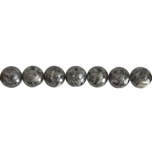 Labradorite Line with Inclusions - 14 mm Bead