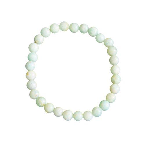 Amazonite Bracelet - 6 mm Bead