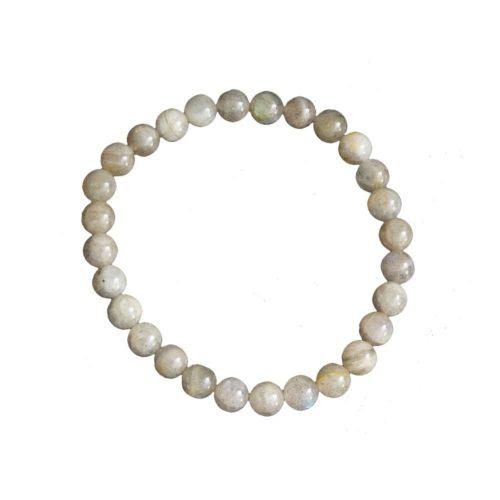Labradorite Bracelet - 6 mm Bead