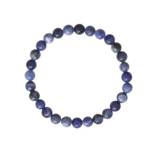 Sodalite Bracelet - 6 mm Bead