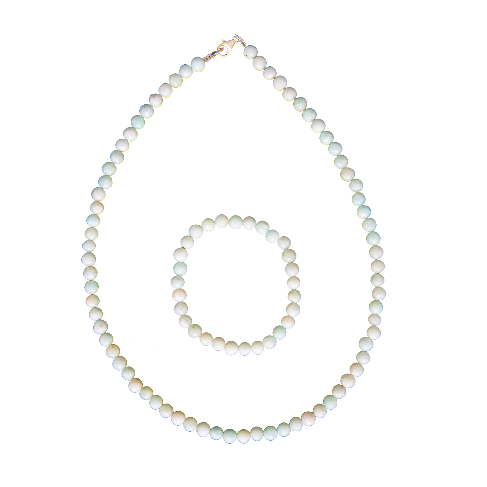 Sterling Silver Beaded Stretch Bracelet-Coffret Cadeau