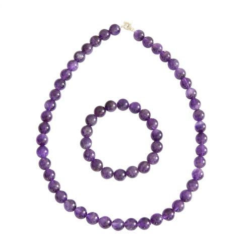 Amethyst Gift Set - 10 mm Bead