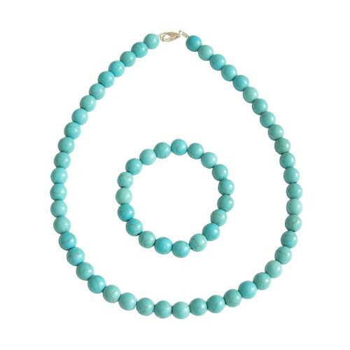 Blue Howlite Gift Set - 10 mm Bead