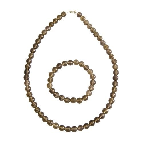 Smoky Quartz Gift Set - 8 mm Bead