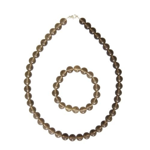 Smoky Quartz Gift Set - 10 mm Bead