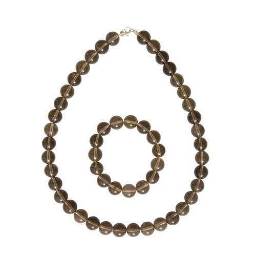 Smoky Quartz Gift Set - 12 mm Bead
