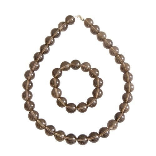 Smoky Quartz Gift Set - 14 mm Bead