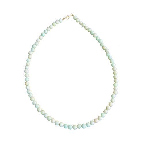 Amazonite Necklace - 6 mm Bead