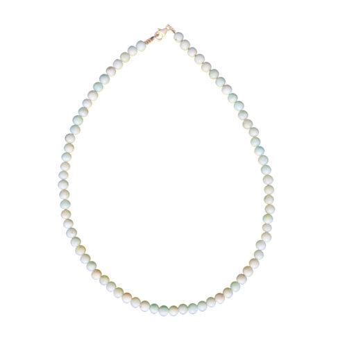 Amazonite Necklace - 6 mm Bead