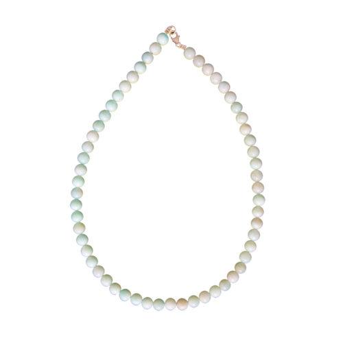 Amazonite Necklace - 8 mm Bead