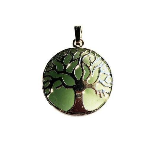 Aventurine Pendant - Tree of Life