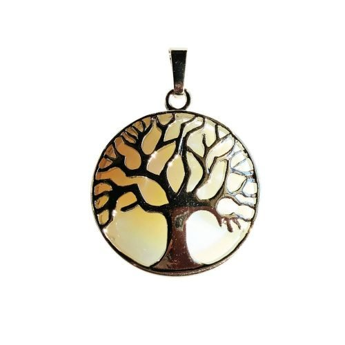 Opal Pendant - Tree of Life
