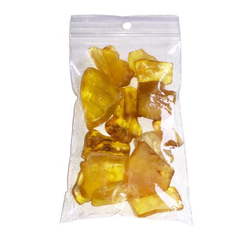 pierres roulées ambre 250grs