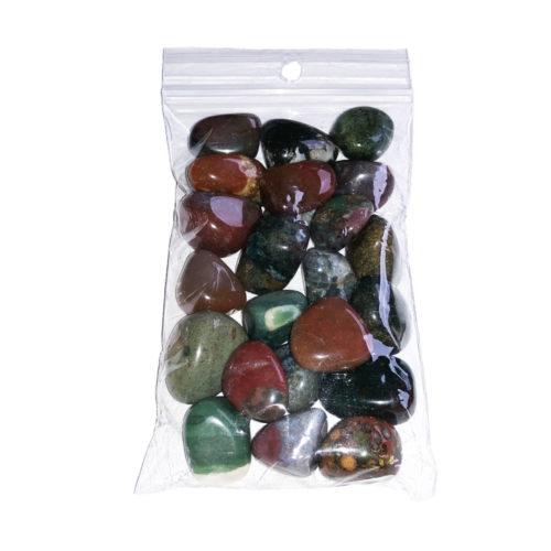 sachet pierres roulées jaspe sanguin 250grs