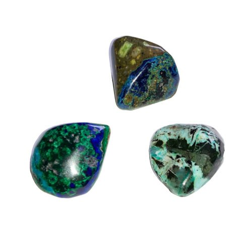 Azurite-Malachite Tumbled Stone