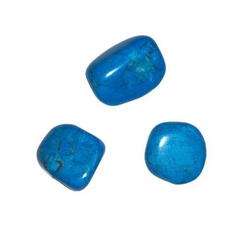 Blue Howlite Tumbled Stone