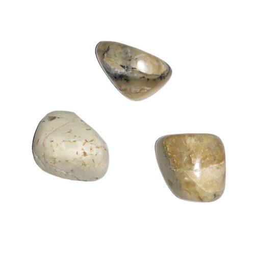 White Opal Tumbled Stone