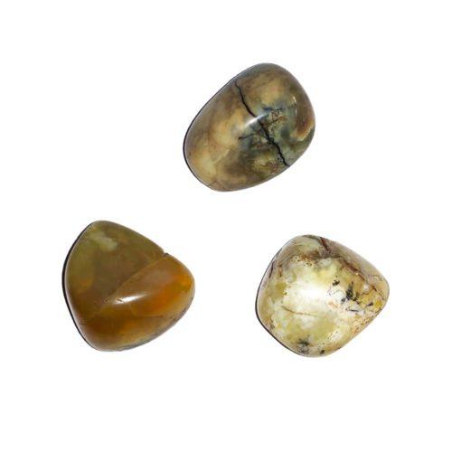 Yellow Opal Tumbled Stone
