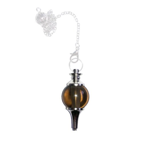 Smoky Quartz Pendulum - Sphere