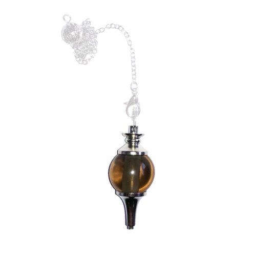 Smoky Quartz Pendulum - Sphere