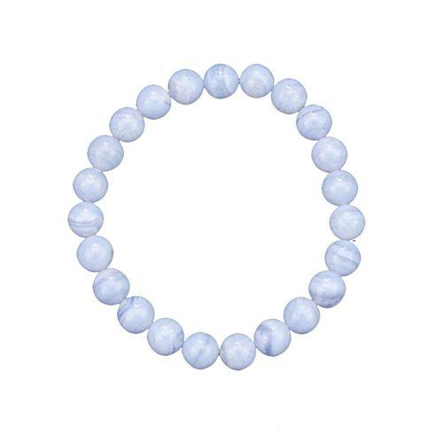 Chalcedony Bracelet - 8 mm Bead