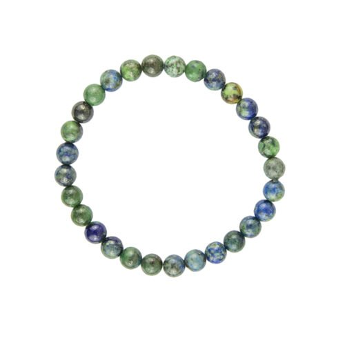 Chrysocolla Bracelet - 6 mm Bead